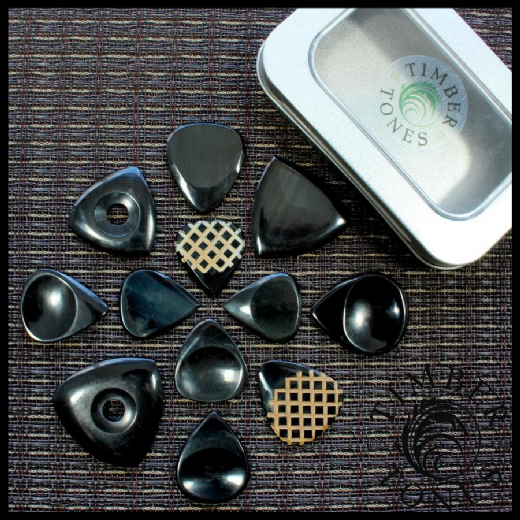 Black Horn Guitar Pick Collection